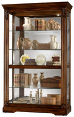 Howard Miller Ramsdell 680-473 Cherry Curio Cabinet CLICK FOR MORE DETAILS
