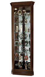 Howard Miller Drake 680-483 Corner Curio Cabinet CLICK FOR MORE DETAILS