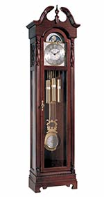 Ridgeway Morgantown 2060 Cherry Grandfather Clock CLICK FOR MORE DETAILS