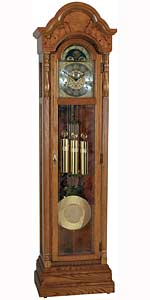 Ridgeway Burlington 2506 Oak Grandfather Clock CLICK FOR MORE DETAILS