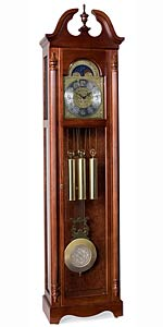 Ridgeway Lynchburg 2504 Quartz Grandfather Clock CLICK FOR MORE DETAILS