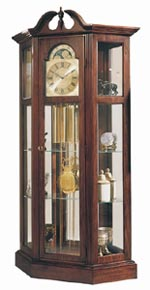 Ridgeway Richardson I 9701 Curio Grandfather Clock CLICK FOR MORE DETAILS