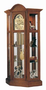 Ridgeway Richardson II 9702 Curio Grandfather Clock CLICK FOR MORE DETAILS