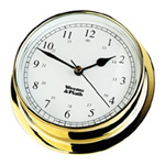 Weems and Plath Brass Endurance 125 Clock 530500 CLICK FOR MORE DETAILS