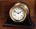 Weems and Plath Atlantis Keywound Ships Bell Clock - 200200 CLICK FOR MORE DETAILS
