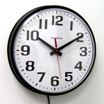 Accutex 12 Inch Electric Wall Clock CLICK FOR MORE DETAILS