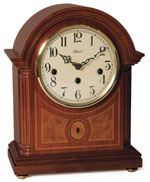 Hermle Barrister 22877-070340 Keywound Chiming Mantel Clock CLICK FOR MORE DETAILS