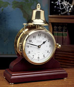 Weems and Plath Victory 823-500 Hourly Strike Bell Clock and Base CLICK FOR MORE DETAILS