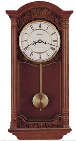 Bulova C4431 Edenhall Pendulum Wall Clock CLICK FOR MORE DETAILS