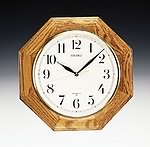 Seiko QXA102BC Quartz Oak Wall Clock CLICK FOR MORE DETAILS