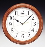 Seiko QXA129BLH Yorkton Wooden Wall Clock CLICK FOR MORE DETAILS