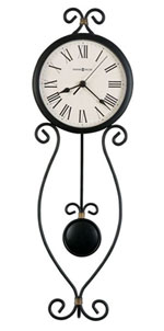 Howard Miller Ivana 625-495 Iron Wall Clock CLICK FOR MORE DETAILS