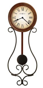Howard Miller Kersen 625-497 Iron Wall Clock CLICK FOR MORE DETAILS