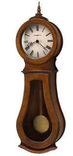 Howard Miller Cleo 625-500 Chiming Wall Clock CLICK FOR MORE DETAILS