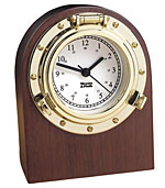 Weems and Plath 312400 Porthole Desk Clock CLICK FOR MORE DETAILS