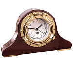 Weems and Plath 410500 Porthole Tambour Desk Clock CLICK FOR MORE DETAILS