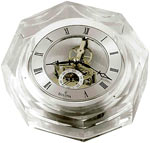 Bulova B9851 Centura Octagonal Crystal Desk Clock CLICK FOR MORE DETAILS