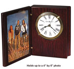 Howard Miller Portrait Book II 645-711 Photo Frame Clock CLICK FOR MORE DETAILS