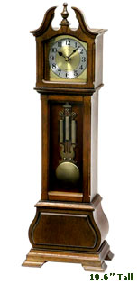 Rhythm CRH183UR06 WSM Hamilton 19 Inch Mantel Clock CLICK FOR MORE DETAILS