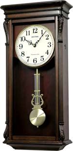 Rhythm CMJ540UR06 Rembrandt II Chiming Wall Clock CLICK FOR MORE DETAILS