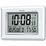 Seiko QHR020WLH Radio Controlled LCD Clock CLICK FOR MORE DETAILS