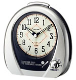 Rhythm 4RM759WD19 Baseball Alarm Clock CLICK FOR MORE DETAILS