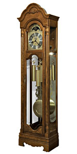Howard Miller Leighton 611-186 Oak Grandfather Clock CLICK FOR MORE DETAILS