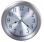 Howard Miller Pisces 625-313 Brushed Nickel Wall Clock CLICK FOR MORE DETAILS