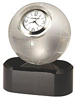 Howard Miller Axis 645-719 Crystal World Desk Clock  CLICK FOR MORE DETAILS