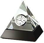 Howard Miller Summit 645-721 Crystal Pyramid Desk Clock CLICK FOR MORE DETAILS