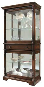 Howard Miller Plantation 680-513 Curio Cabinet CLICK FOR MORE DETAILS