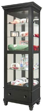 Howard Miller Dayton 680-517 Curio Cabinet CLICK FOR MORE DETAILS