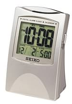 Seiko QHL005SLH Get up and Glow Alarm Clock CLICK FOR MORE DETAILS