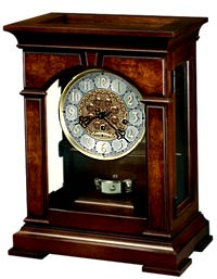 Howard Miller Emporia 630-266 Keywound Mantel Clock CLICK FOR MORE DETAILS