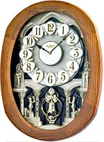 Rhythm 4MH847WD06 Joyful Encore Musical Clock CLICK FOR MORE DETAILS