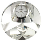 Howard Miller Galaxy 645-731 Crystal Desk Clock CLICK FOR MORE DETAILS
