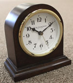 New England Arched Solid Cherry Table Clock CLICK FOR MORE DETAILS
