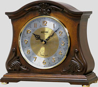 Rhythm CRH193UR06 Joyful Versailles Musical Mantel Clock CLICK FOR MORE DETAILS