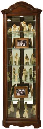 Howard Miller Murphy 680-495 Corner Curio Cabinet CLICK FOR MORE DETAILS