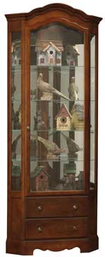 Howard Miller Phoebe 680-525 Corner Curio Cabinet CLICK FOR MORE DETAILS