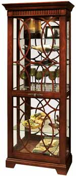 Howard Miller Jesup 680-507 Curio Cabinet CLICK FOR MORE DETAILS
