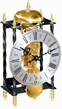 Hermle Galahad 22734-000701 Skeleton Mantel Clock CLICK FOR MORE DETAILS