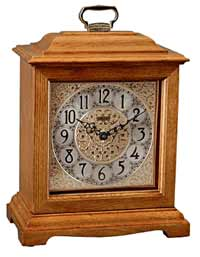Hermle 22825-I92114 Oak Chiming Mantel Clock CLICK FOR MORE DETAILS