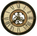 Howard Miller Brass Works 625-542 Large Wall Clock CLICK FOR MORE DETAILS