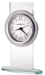 Howard Miller Brookline Glass Alarm Clock / Table Clock CLICK FOR MORE DETAILS