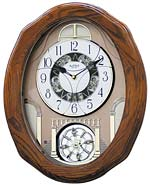 Rhythm 4MH822PD06 Classic Glory Music in Motion Clock CLICK FOR MORE DETAILS