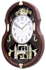 Rhythm 4MH829WB06 Viola Entertainer Musical Motion Clock CLICK FOR MORE DETAILS