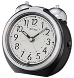 Seiko QXK118KLH Twin Bell Loud Alarm clock CLICK FOR MORE DETAILS