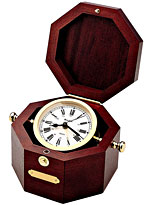 Bulova BU7910 Gimballed Nautical Clock CLICK FOR MORE DETAILS