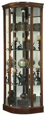 Howard Miller Marlowe 680-529 Corner Curio Cabinet CLICK FOR MORE DETAILS